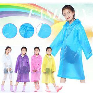 Плащ для детей Дети девушки непромокаемый дождевик водонепроницаемый пончо мальчики дождевики детский сад детские дождевики
