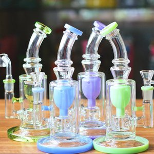 9inch Glass Honeycomb Bong Jet Perc Wax Dab Rig TORO Oil Rigs Smoking Pipe Fab Egg Bubblers Water Pipe with Quartz Banger