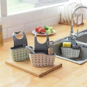 Ablassen Basket Home Küchenhängeablassbeutel Bad Aufbewahrung Werkzeuge Sink-Halter-Küche Zubehör vaciar cesta Unter-Sink Veranstalter WZW-LXL988