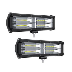 Cip Araba Kamyon Traktör Motosiklet Botu için 9 Inc 144W LED Taşkın Işık Offroad Sürüş Çalışma Lambası Yardımcı Sis Lambaları