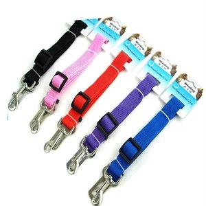 5color Pet автокребли ремень Rope собаки из корды из любимчика toolDog Traction ремня зоотовары T2I5922