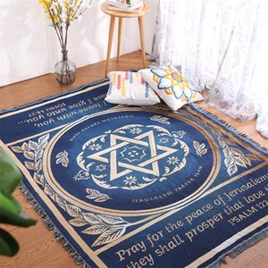 Israel oração cobertor tapeçaria sofá Christian dom Europa e América do sofá cobertor altar decoração religio