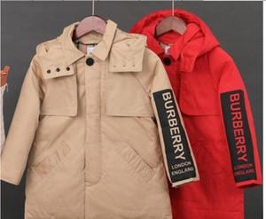 2020 новый БУ детские зимние куртки 90% утка вниз мягкий Детская одежда мальчики девочки теплая зима пуховик утолщение верхняя одежда