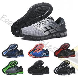 Mens 2019 NEWASICS Gel-Quantum 360 2 2 s Shift Running Shoes Cinza Vermelho triplo preto branco Hiper Azul mulheres esporte trainer tênis de grife