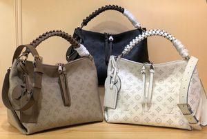 أعلى جودة! 2020 العلامة التجارية مصمم الأزياء الفاخرة حقيبة محفظة حقيبة رسول حقيبة يد M56084BEAUBOURG المتشرد المتوسطة حقيبة شحن مجاني