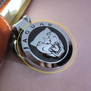 جاكوار XF XFL XFR XJ XJ6 XK S F نوع المعادن كيرينغ حلقة المفاتيح مفتاح سلسلة