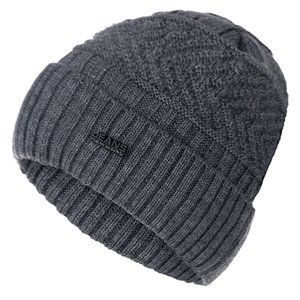 High Quality JEANS Winter Hat Add Fur Warm Beanies Hat Baggy Skullies Knitted Hat For Men Women Ski Sports Beanies Cap