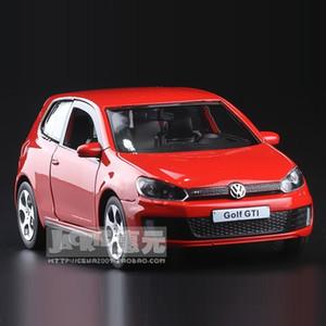 Yüksek Simülasyon Nefis Diecasts Oyuncak Araçlar: RMZ şehir Araba Şekillendirme Golf GTI 01:36 Alaşım Diecast Model Oyuncak Araba Y200109