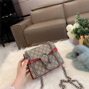 gucci Lady bags 2020 luxury bolsas de hombro Instock de calidad superior de diseño de moda de las mujeres Bolsas Carteras cadena de cuero bolsa de mensajero de Crossbody Bolsa de