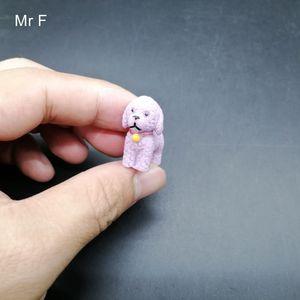 Kid Gift Purple Walking Dog Simulation Animal Model Preschool Educational Toy Game Novelty Gag Gift