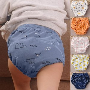 Baby Cotton Training Pants Breathable Diapers Reusable Washable Diapers Pants cotton breathable learning washable