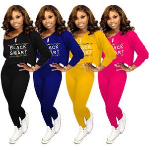 Femmes Designer Outfits Hoodies + Leggings Deux Pièces Ensembles Survêtements Bodycon Pantalon Sportswear Vêtements Automne Hiver Vente Chaude DHL 1308