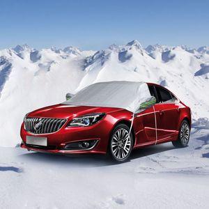 Universal Car cubierto de nieve cubierta de coche al aire libre impermeable Protector al aire libre Coches Exterior Auto Accesorios Aganist Anti UV Rain Snow
