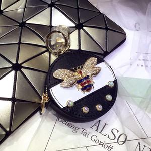 PINK SUGOO Monedero monedero linda moneda moneda niñas llavero bolsa mini diseñador bolsa pequeña cartera zippy monedero monedero diseñador llave titular monedero 070510