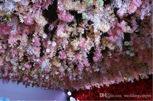 Süper uzun Orkide Wisteria Garland Çiçek Home For Süsleme Düğün Dekorasyon Malzemeleri Asma tek parça zarif Yapay 3 Dallar