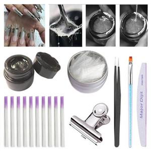 Set di strumenti per manicure per manicure in fibra di vetro