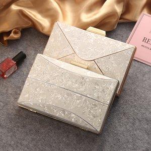 Dîner de mode Version coréenne Elegant The Luxury Bag Femme 2020 New Light Light Dames Sac Soirée de JRXDT