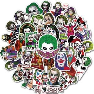 50pcs / Set Mixed filme The desenhos animados Joker Stickers Car Motorcycle Viagem Bagagem Telefone guitarra Frigorífico Laptop PVC impermeável Etiqueta Toy