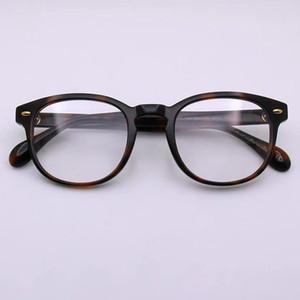 Las mujeres de lujo Frame Designer Glassesframe plateado cuadrado retro 5036 Lentes por un hombre simple calidad de la tapa del estilo popular con la caja