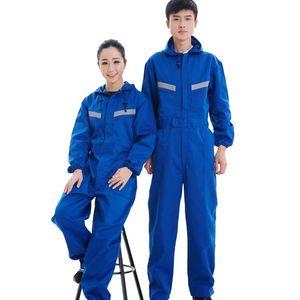 Mens New Arrival com capuz Trabalho usar macacões Masculino Vestuário calças cargo Reparador Jumpsuits masculinos Suspensórios macacões uniformes