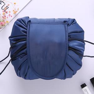 Женщины cometic мешок большой емкости sdrawstring составляют мешок путешествия сумка женщины метизы сумки для хранения без логотипа Корея тенденция 10 цветов