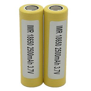 100pcs 100% High Quality For LG HE4 18650 Battery 2500mAh IMR 3.7V for LG SONY Samsung Rechargable Lithium Batteries Cell