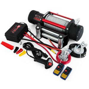 Motorlu Elektrikli Vinç Halat 12V Traction 6123KG Tekne Halat Kablo Vinç Serisi Yara 13500lbs