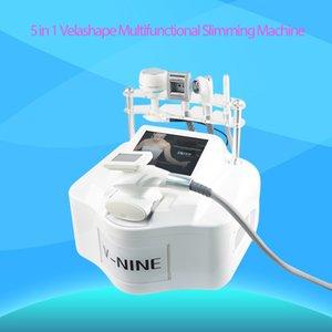 Портативный VelaShape машина 40Khz кавитация Вакуумный RF роликовый массаж с инфракрасным излучением для тела для похудения потери веса омоложения кожи