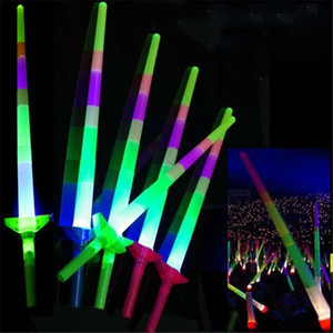Party Beliebte LED Leuchtstäbe Mode Bunte Teleskop Tragbare Leuchtstab Weihnachten Halloween LED Blinkstäbe 68cm