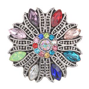 10 pçs / lote vocheng new snaps jóias de alta qualidade 18mm botões de pressão de metal diy encantos botão jewerly vn-2043 * 10