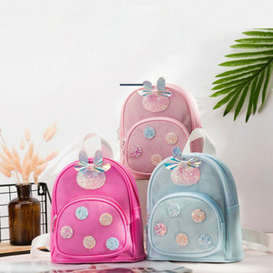 Toddler Schoolbag Kid Children Boy Girl Jelly Cartoon Animal Backpack School Bag