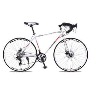 Mountain bike 700c aluminum alloy road bike 21 27and30speed road bicycle Two-disc sand road bike Ultra-light bicycle mountain bikes