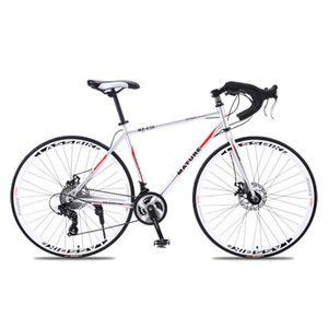 Mountain bike 700c bici da strada in lega di alluminio 21 27and30speed bicicletta strada a due dischi sabbia strada bicicletta ultraleggeri mountain bike bicicletta