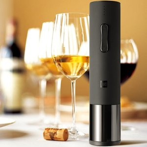 Free Shipping Huohou Creative Wine Electric Bottle Opener Corkscrew Low Noise Well-prepared Romantic Dinner Home Hotel Party