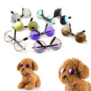 Fashion Pet Cat Dog Sunglasses Glasses Eyewear Cool Grooming Photos Props Color Random Pet Accessories
