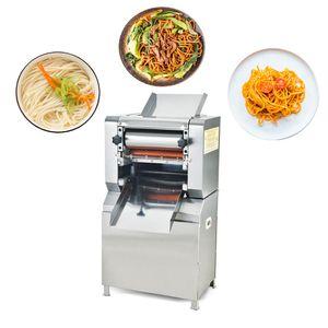 Noodles elétrica Pressionando aço inoxidável Máquina Comercial Pasta Automatic Criador Massa Bolinho Spaghetti Cortador