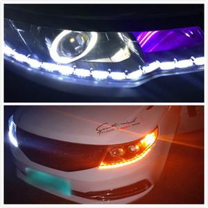 배 DRL LED 낮 실행 빛 라다 니바 칼리나 Priora GRANTA Largus 바즈 사마라 세단 스포츠 베스타 X 선 X 선 2106 2108 (210)