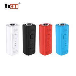 Authentische Yocan Kodo Box Mod 400mAh Batterie vorheizen einstellbare Spannung mit Magnetanschluss Oil Vape Starter Kit 20pcs / box Yocan Groote