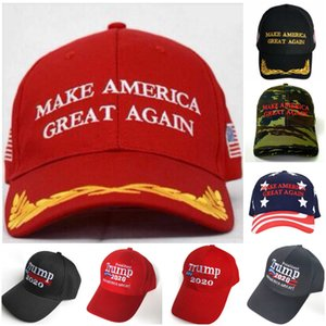Fast Ship President Make America Great Again Hat Donald Trump 2020 Republican Adjustable Red Cap with Good Quality
