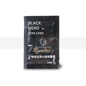 Hot Selling Deep Clean Facial Minerals Nose Blackhead Remover Mask Pore Cleanser Nose Black Head Pore Whitening