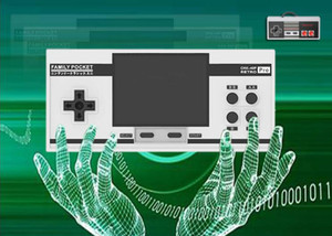 10pcs 3inch NES Pro Portable Handheld Games Supports 2 Player Family Pocket 348 AVG RPG ACT FC C3 LD LB LA CHX-40P RETRO Nintendo TV Out