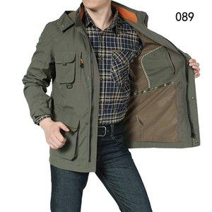 Армейский камуфляж Пальто Военная Куртка Водонепроницаемый Ветровка Плащ Охота Одежда Армия Мужчины Верхняя Одежда Куртки И Пальто