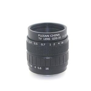 Profesyonel 35mm f / 1.8 CCTV Lens C Montaj CCTV Lens kaliteli lens ile alaşım kılıfı,