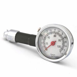 Auto Car Motociclo Neumático Neumático Presión de metal Precisión Indicador Dial Medida