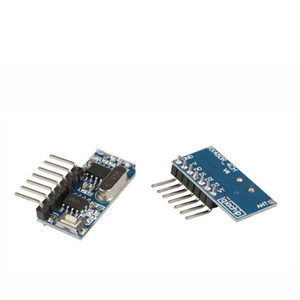 200pcs 433mhz RF Receiver Learning Code Decoder Module 4 Channel output For Remote Controls 1527 2262 encoding