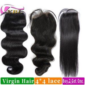 Human Hair Closure Virgin Brazilian Human Hair Top Lace Closure Buy Two Get One Free By XBL
