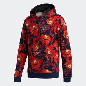 New Mens Designer Sweater Soprts Casual Sweat Shirt Brand Fashion Graphic Hooded Sweatshirt Top Sweat Shirt Red S-2XL