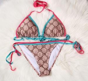 Bademode Frauen-Bikini-Süßigkeit-Farben-Badeanzug-Badeanzug Push-Up Bikini Set Plus Size Bademode weiblich Biquinis