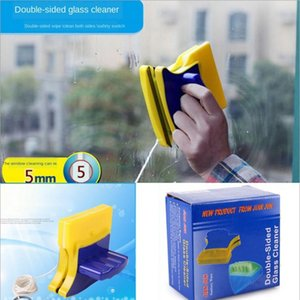 Novelty Double-sided Magnetic Glass Cleaner Glass Cleaning Wipe glass Scraping double-sided Glass Wipe