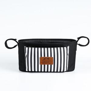 Baby Stroller Storage Pannier Bag Large Capacity Multi-functional Milk Insulated Bag Single-shoulder Mommy